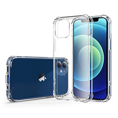 Coque Ultra Fine TPU Souple Transparente T06 pour Apple iPhone 12 Clair