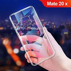 Coque Ultra Fine TPU Souple Transparente T06 pour Huawei Mate 20 X 5G Clair