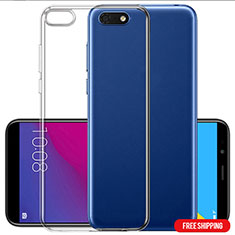 Coque Ultra Fine TPU Souple Transparente T06 pour Huawei Y5 (2018) Clair