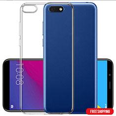 Coque Ultra Fine TPU Souple Transparente T06 pour Huawei Y5 Prime (2018) Clair