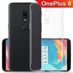 Coque Ultra Fine TPU Souple Transparente T06 pour OnePlus 6 Clair