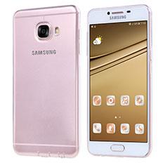Coque Ultra Fine TPU Souple Transparente T06 pour Samsung Galaxy C7 SM-C7000 Clair