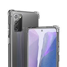 Coque Ultra Fine TPU Souple Transparente T06 pour Samsung Galaxy Note 20 5G Clair