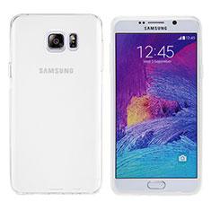 Coque Ultra Fine TPU Souple Transparente T06 pour Samsung Galaxy Note 5 N9200 N920 N920F Blanc