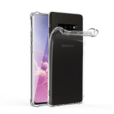 Coque Ultra Fine TPU Souple Transparente T06 pour Samsung Galaxy S10 Clair