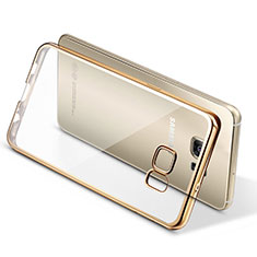 Coque Ultra Fine TPU Souple Transparente T06 pour Samsung Galaxy S7 Edge G935F Or