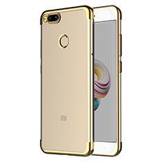 Coque Ultra Fine TPU Souple Transparente T06 pour Xiaomi Mi 5X Or