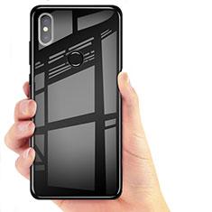 Coque Ultra Fine TPU Souple Transparente T06 pour Xiaomi Mi 8 Noir