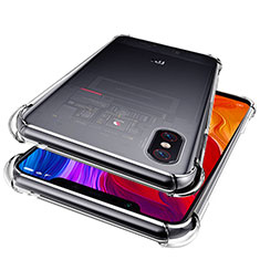 Coque Ultra Fine TPU Souple Transparente T06 pour Xiaomi Mi 8 Pro Global Version Clair