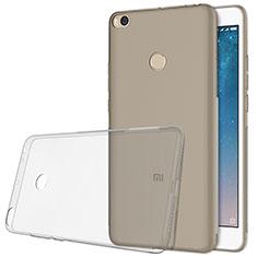 Coque Ultra Fine TPU Souple Transparente T06 pour Xiaomi Mi Max 2 Gris