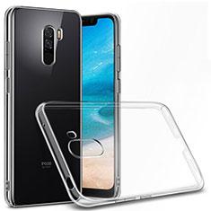 Coque Ultra Fine TPU Souple Transparente T06 pour Xiaomi Pocophone F1 Clair
