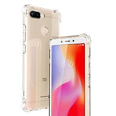 Coque Ultra Fine TPU Souple Transparente T06 pour Xiaomi Redmi 6 Clair