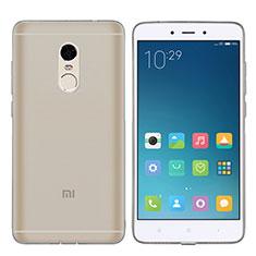 Coque Ultra Fine TPU Souple Transparente T06 pour Xiaomi Redmi Note 4 Gris