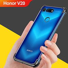 Coque Ultra Fine TPU Souple Transparente T08 pour Huawei Honor V20 Noir