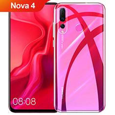 Coque Ultra Fine TPU Souple Transparente T08 pour Huawei Nova 4 Clair