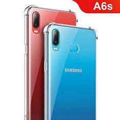Coque Ultra Fine TPU Souple Transparente T08 pour Samsung Galaxy A6s Clair
