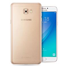 Coque Ultra Fine TPU Souple Transparente T08 pour Samsung Galaxy C7 Pro C7010 Clair