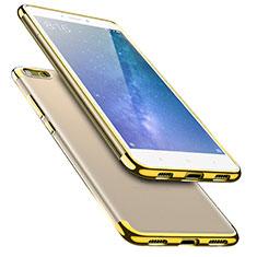 Coque Ultra Fine TPU Souple Transparente T08 pour Xiaomi Mi Max 2 Or
