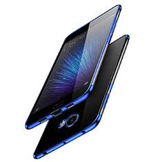 Coque Ultra Fine TPU Souple Transparente T08 pour Xiaomi Mi Note 2 Bleu