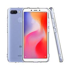 Coque Ultra Fine TPU Souple Transparente T08 pour Xiaomi Redmi 6 Clair