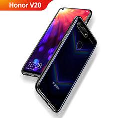 Coque Ultra Fine TPU Souple Transparente T09 pour Huawei Honor View 20 Noir