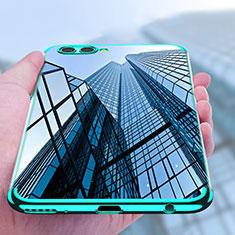 Coque Ultra Fine TPU Souple Transparente T09 pour Huawei Nova 2S Bleu