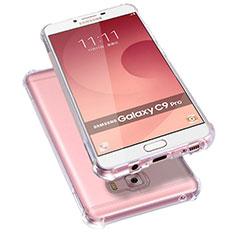 Coque Ultra Fine TPU Souple Transparente T09 pour Samsung Galaxy C9 Pro C9000 Clair