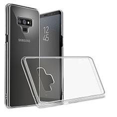 Coque Ultra Fine TPU Souple Transparente T09 pour Samsung Galaxy Note 9 Noir