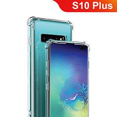 Coque Ultra Fine TPU Souple Transparente T09 pour Samsung Galaxy S10 Plus Clair