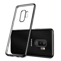 Coque Ultra Fine TPU Souple Transparente T09 pour Samsung Galaxy S9 Plus Noir