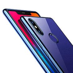Coque Ultra Fine TPU Souple Transparente T09 pour Xiaomi Mi 8 Bleu