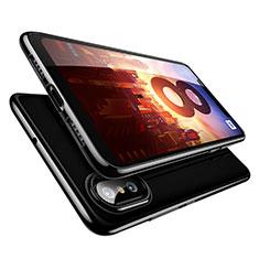 Coque Ultra Fine TPU Souple Transparente T09 pour Xiaomi Mi 8 Noir