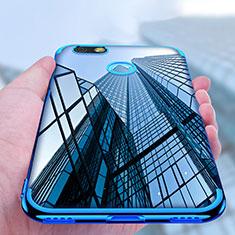 Coque Ultra Fine TPU Souple Transparente T10 pour Huawei Enjoy 7 Clair