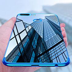 Coque Ultra Fine TPU Souple Transparente T10 pour Huawei Honor 9 Lite Bleu