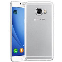 Coque Ultra Fine TPU Souple Transparente T10 pour Samsung Galaxy C9 Pro C9000 Clair