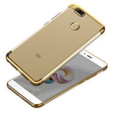 Coque Ultra Fine TPU Souple Transparente T10 pour Xiaomi Mi 5X Or