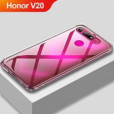 Coque Ultra Fine TPU Souple Transparente T11 pour Huawei Honor V20 Clair