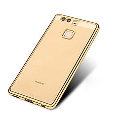 Coque Ultra Fine TPU Souple Transparente T11 pour Huawei P9 Plus Or