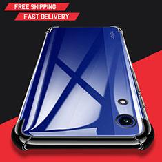 Coque Ultra Fine TPU Souple Transparente T11 pour Huawei Y6 (2019) Noir