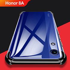 Coque Ultra Fine TPU Souple Transparente T11 pour Huawei Y6 Prime (2019) Noir