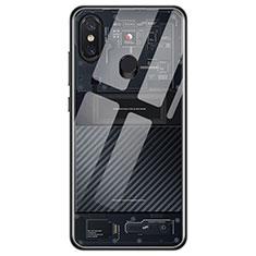 Coque Ultra Fine TPU Souple Transparente T11 pour Xiaomi Mi 8 Noir
