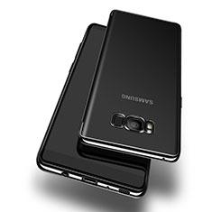 Coque Ultra Fine TPU Souple Transparente T14 pour Samsung Galaxy S8 Plus Noir