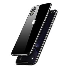 Coque Ultra Fine TPU Souple Transparente T15 pour Apple iPhone XR Noir