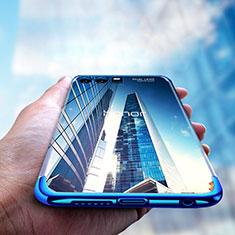 Coque Ultra Fine TPU Souple Transparente T15 pour Huawei Honor 9 Premium Bleu