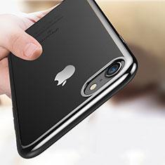 Coque Ultra Fine TPU Souple Transparente T18 pour Apple iPhone 8 Noir