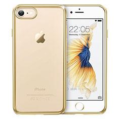 Coque Ultra Fine TPU Souple Transparente T18 pour Apple iPhone 8 Or