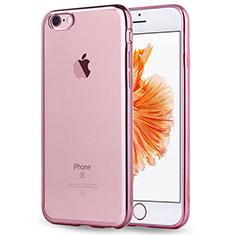 Coque Ultra Fine TPU Souple Transparente T18 pour Apple iPhone 8 Or Rose