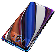 Coque Ultra Fine TPU Souple Transparente T18 pour Huawei Mate 10 Bleu