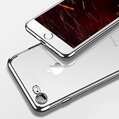 Coque Ultra Fine TPU Souple Transparente T19 pour Apple iPhone 8 Argent