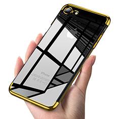 Coque Ultra Fine TPU Souple Transparente T19 pour Apple iPhone 8 Or